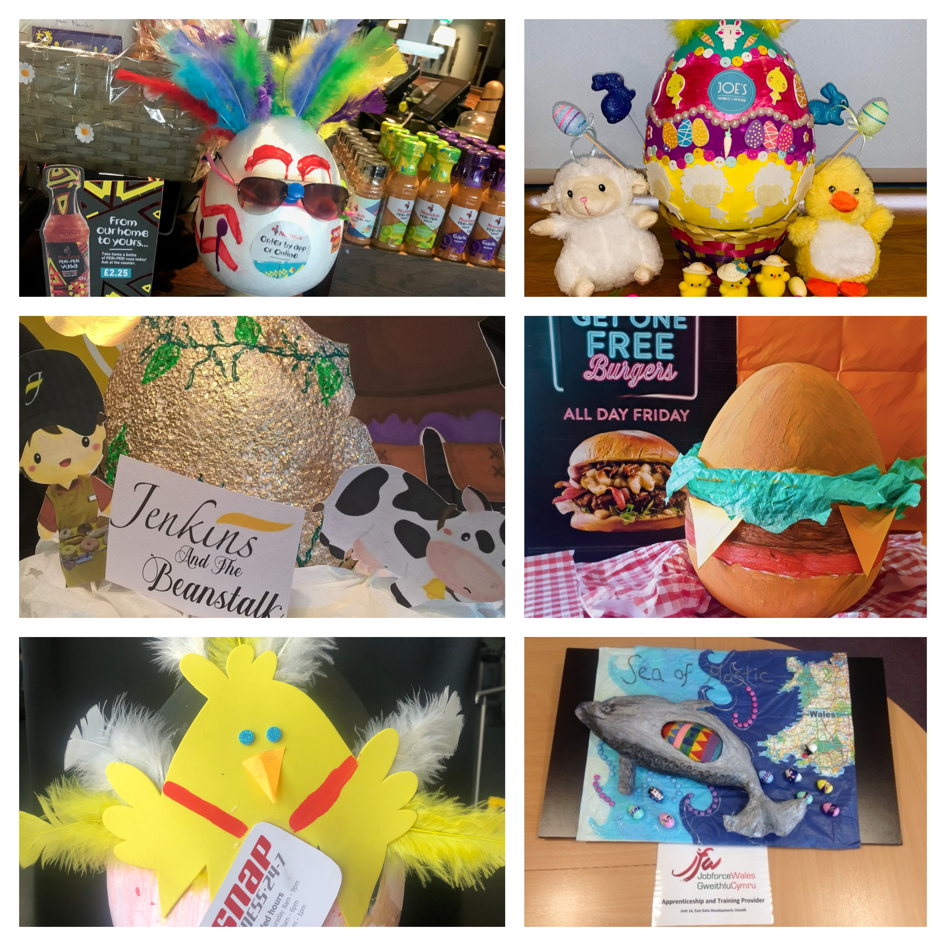 Vote for your favourite East Gate Easter Egg